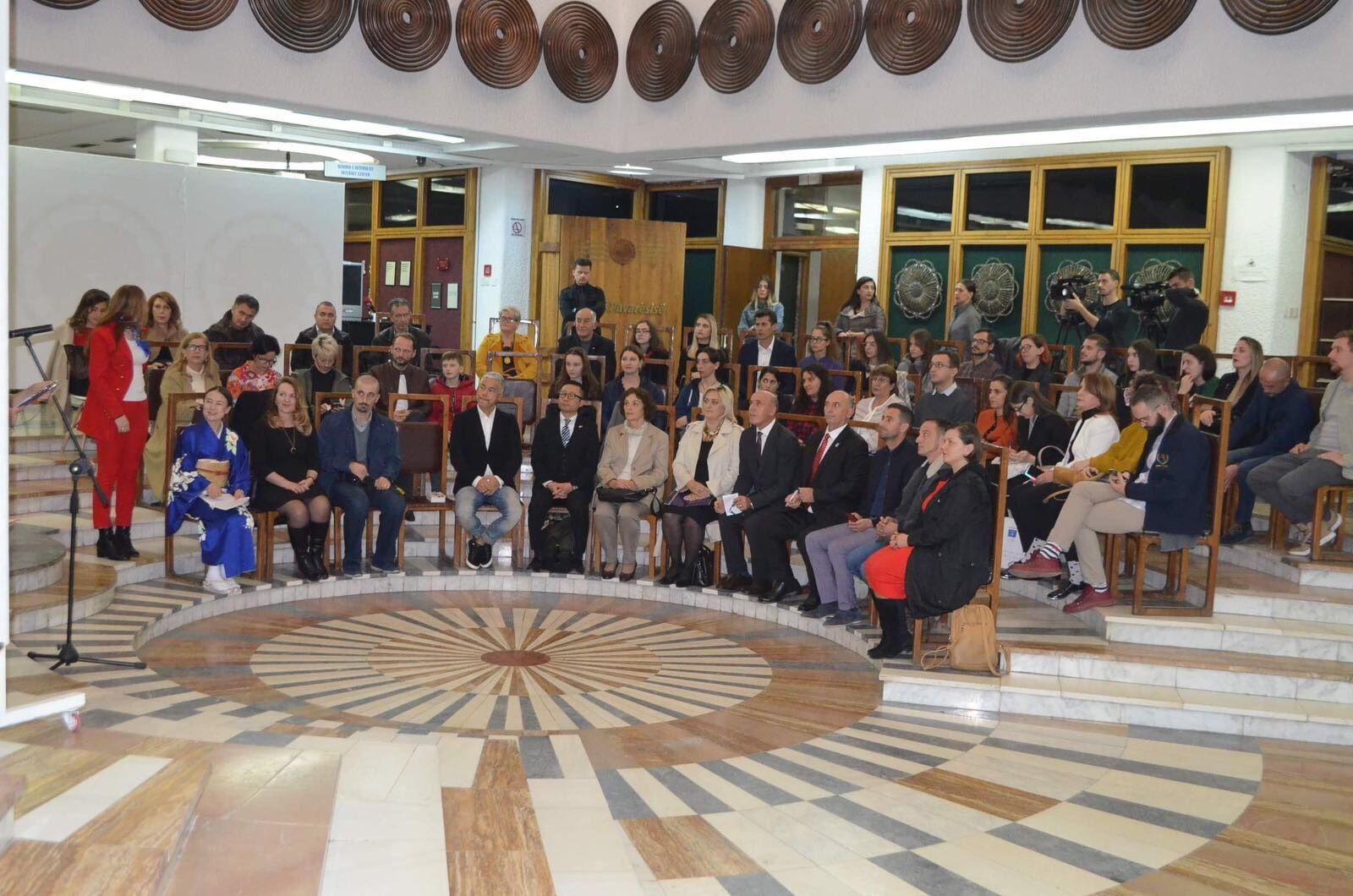 Zëvendësministrja Leonora Morina Bunjaku mori pjesë në hapjen e ekspozitës së Kimonës