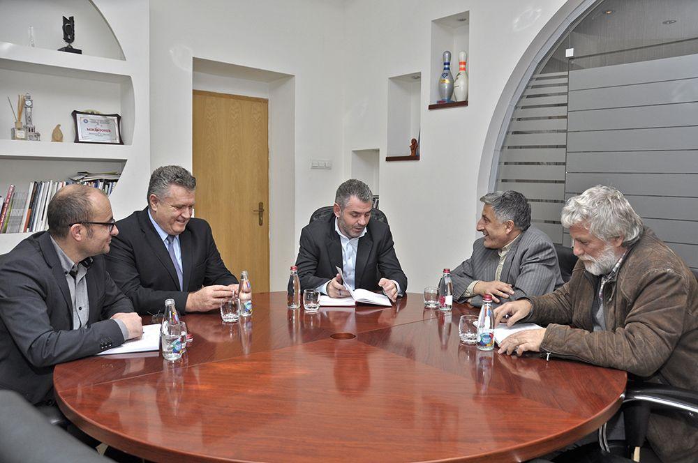 SBASHK-u u takua me Ministrin e  Kulturës , Kujtim Shala
