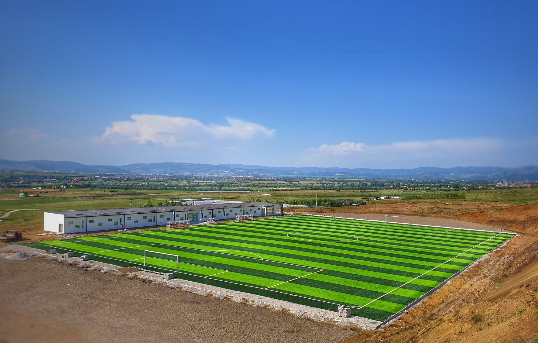 U përurua stadiumi ndihmës në Korishë të Prizrenit, investim i MKRS-së