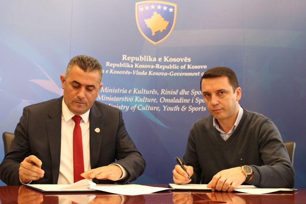 MKRS nënshkruan memorandume bashkëpunimi me gjashtë federata, në vlerë totale prej më shumë se gjysmë milioni euro